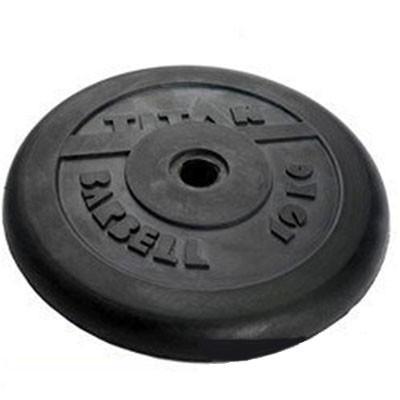 Блин обрезиненный TITAN Barbell 10 кг (d31)